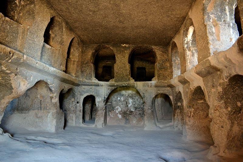 rock carved church cappadocia turkey - excursion to cappadocia