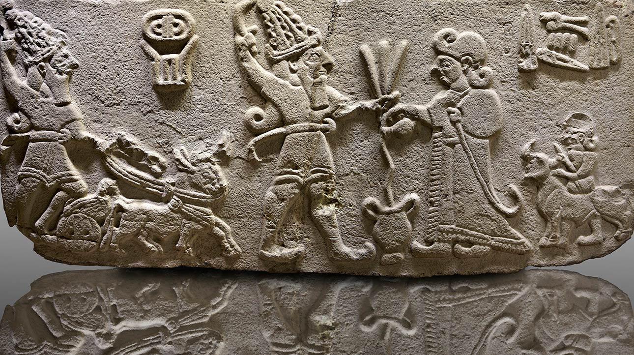 Hittite-Sculpture