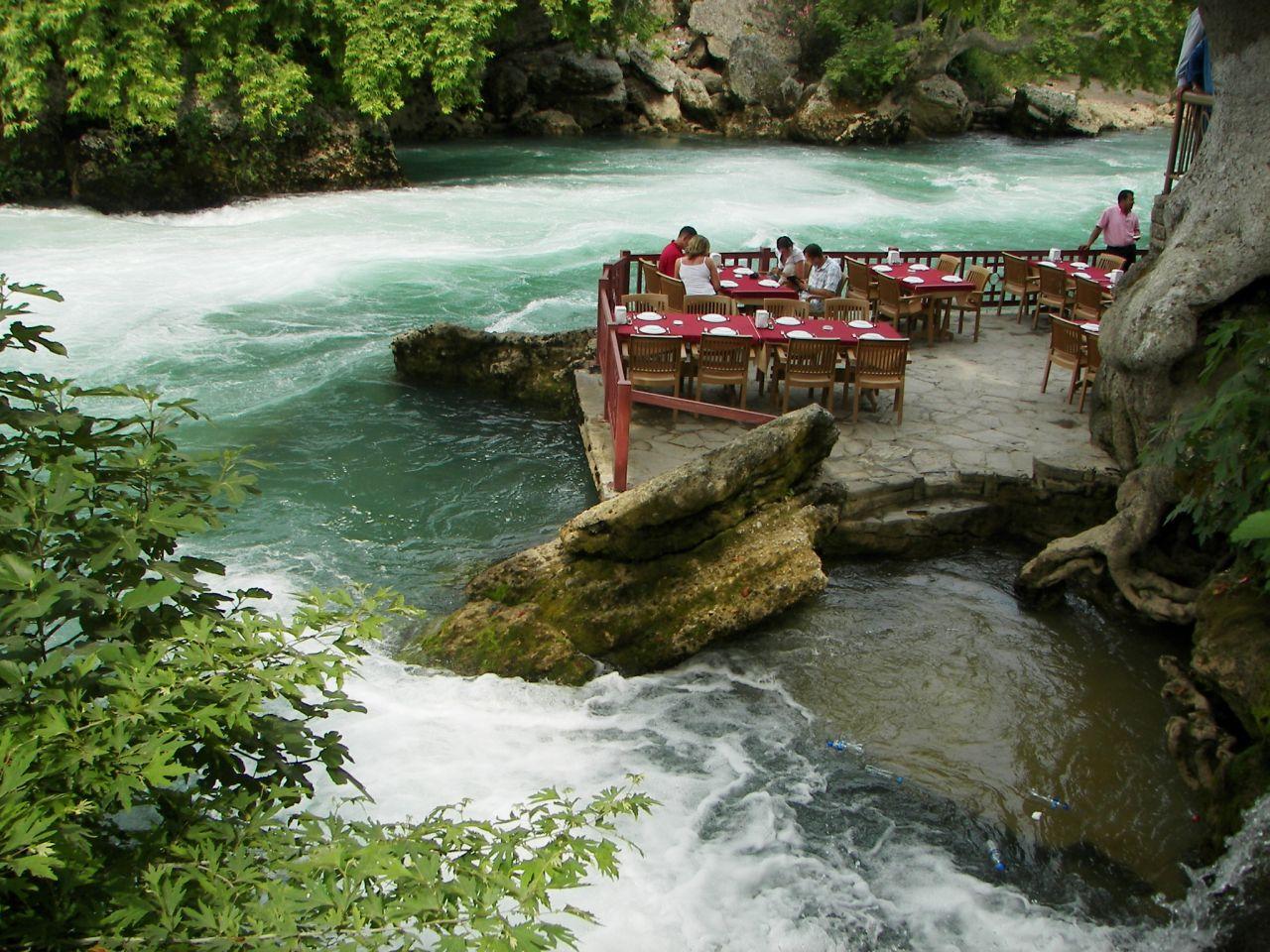 Manavgat waterfall Turkey