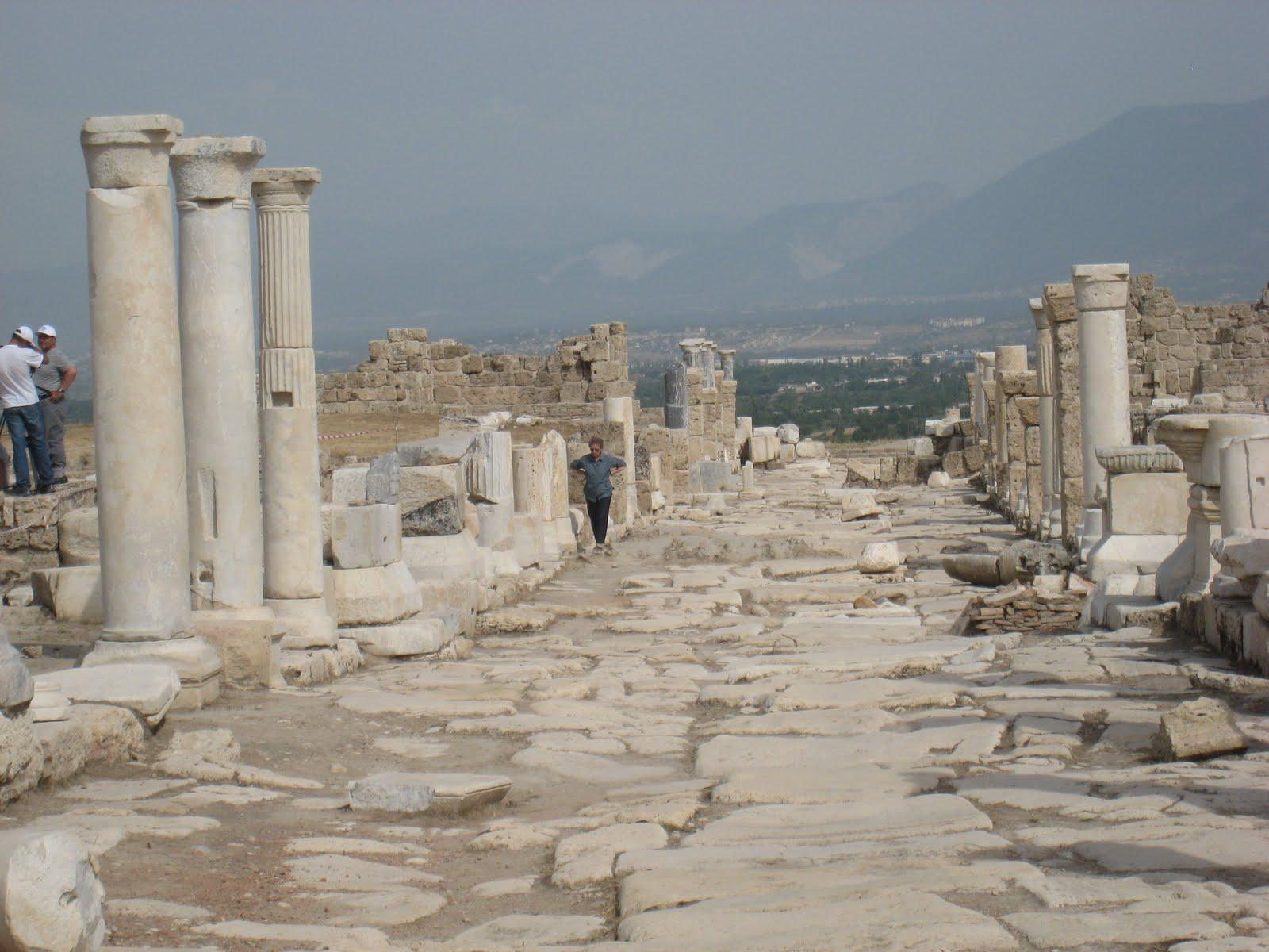 Sardis Laodiceia Pamukkale